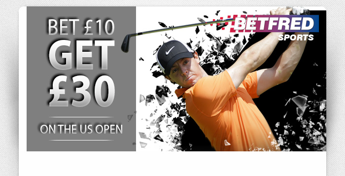 US Open - Bet £10 Get £30
